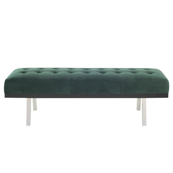 RIKARD BENCH EMERALD GREEN - Dream art Gallery