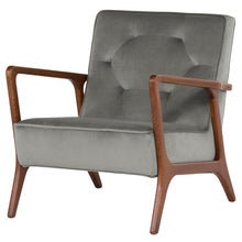 Load image into Gallery viewer, ELOISE OCCASIONAL CHAIR SMOKE GREY - Dream art Gallery