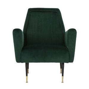 VICTOR OCCASIONAL CHAIR EMERALD GREEN - Dream art Gallery