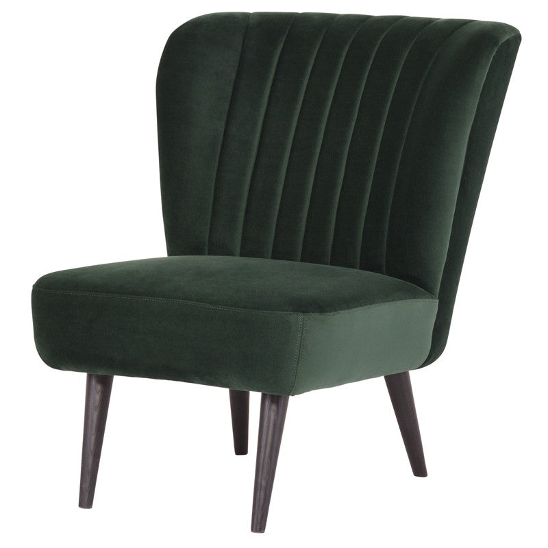 ALICIA OCCASIONAL CHAIR EMERALD GREEN - Dreamart Gallery