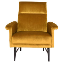 Load image into Gallery viewer, MATHISE OCCASIONAL CHAIR MUSTARD - Dreamart Gallery