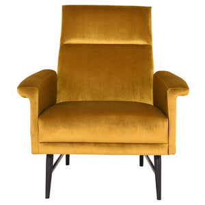 MATHISE OCCASIONAL CHAIR MUSTARD - Dreamart Gallery