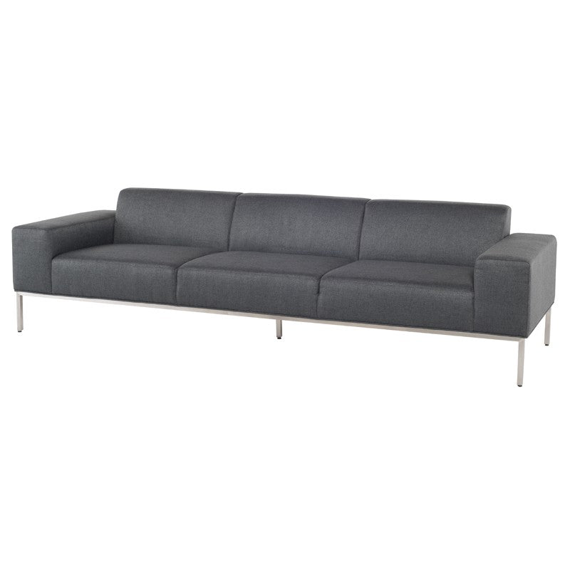 BRYCE SOFA STORM GREY - Dream art Gallery
