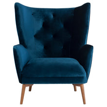 Load image into Gallery viewer, KLARA OCCASIONAL CHAIR MIDNIGHT BLUE - Dreamart Gallery