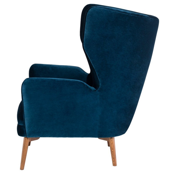 KLARA OCCASIONAL CHAIR MIDNIGHT BLUE