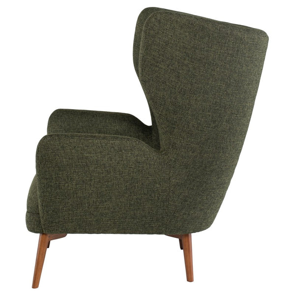 KLARA OCCASIONAL CHAIR HUNTER GREEN TWEED