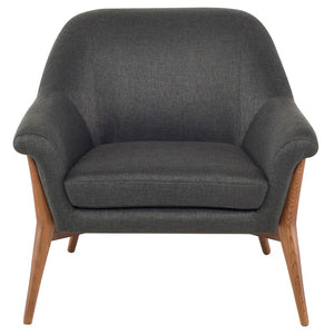 CHARLIZE OCCASIONAL CHAIR STORM GREY - Dream art Gallery