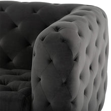 Load image into Gallery viewer, TUFTY SOFA SHADOW GREY