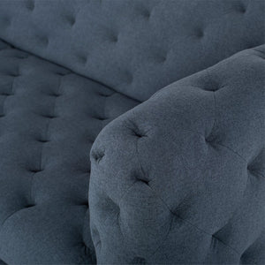 TUFTY SOFA NIGHT BLUE - Dreamart Gallery