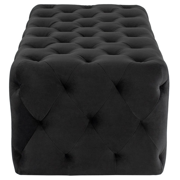 TUFTY OTTOMAN SHADOW GREY - Dream art Gallery