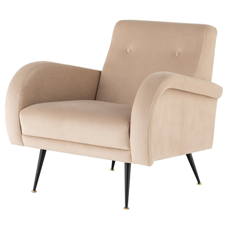 HUGO OCCASIONAL CHAIR NUDE - Dream art Gallery