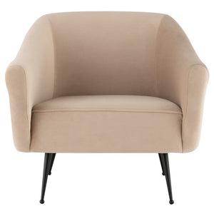LUCIE OCCASIONAL CHAIR NUDE - Dream art Gallery