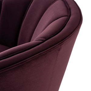 ARIA OCCASIONAL CHAIR MULBERRY