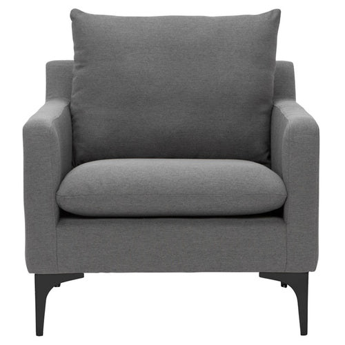 SLATE GREY ANDERS OCCASIONAL CHAIR