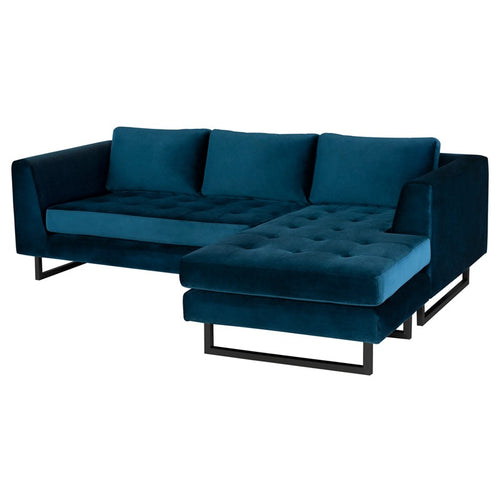 MATTHEW SECTIONAL MIDNIGHT BLUE