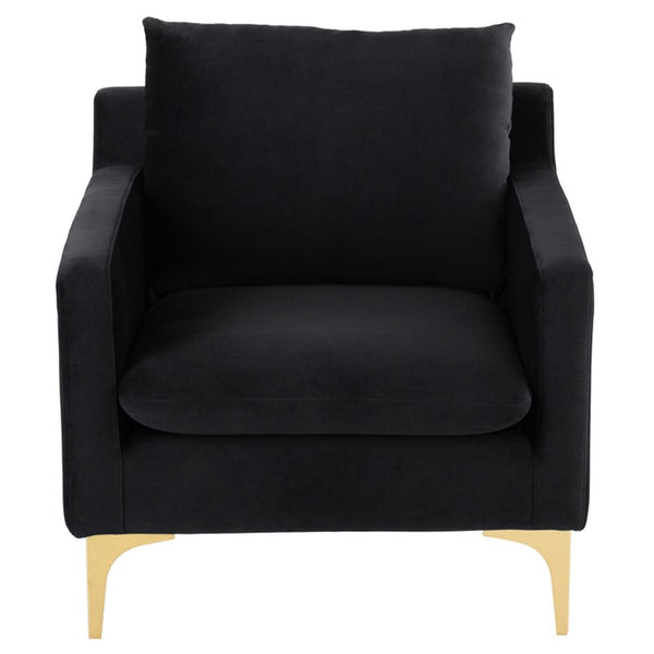 ANDERS OCCASIONAL CHAIR black - Dreamart Gallery