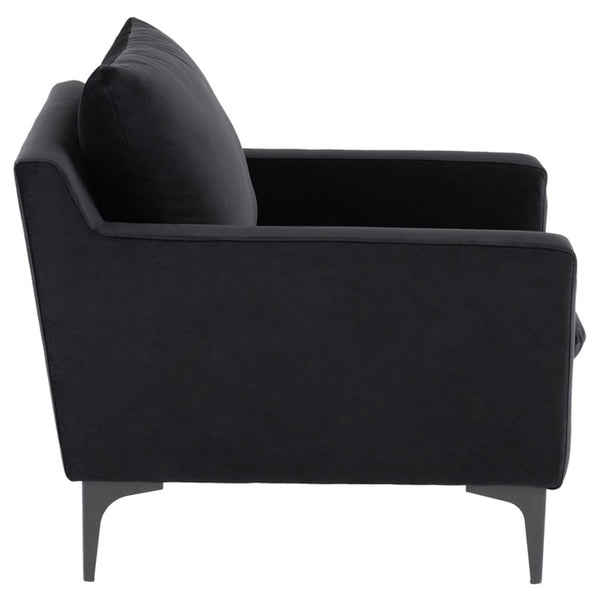ANDERS OCCASIONAL CHAIR BLACK