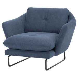 FRANKIE OCCASIONAL CHAIR DENIM - Dreamart Gallery