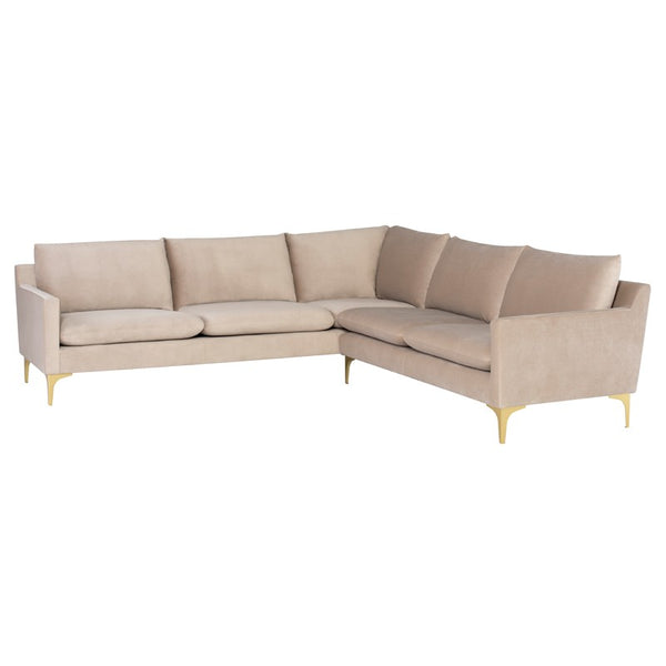 ANDERS L SECTIONAL sofa - Dream art Gallery
