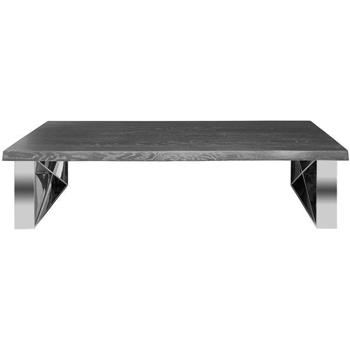 AIX COFFEE TABLE OXIDIZED GREY