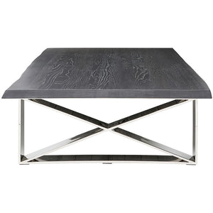 AIX COFFEE TABLE OXIDIZED GREY - Dream art Gallery