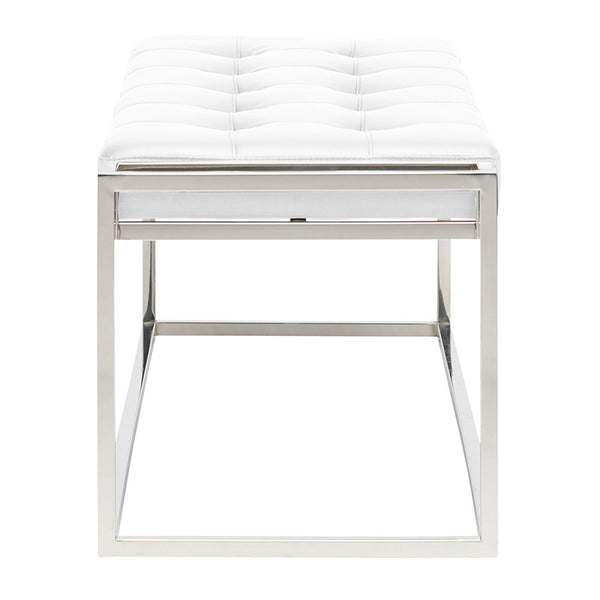 STEP BENCH WHITE - Dream art Gallery