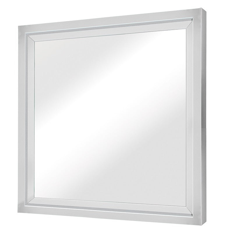 GLAM WALL MIRROR SILVER - Dreamart Gallery