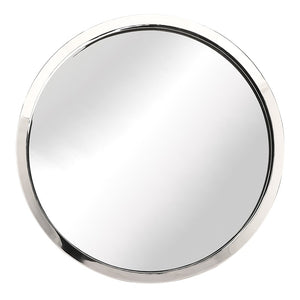 JULIA WALL MIRROR SILVER - Dream art Gallery