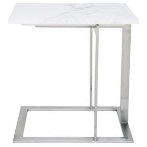 DELL SIDE TABLE WHITE - Dream art Gallery