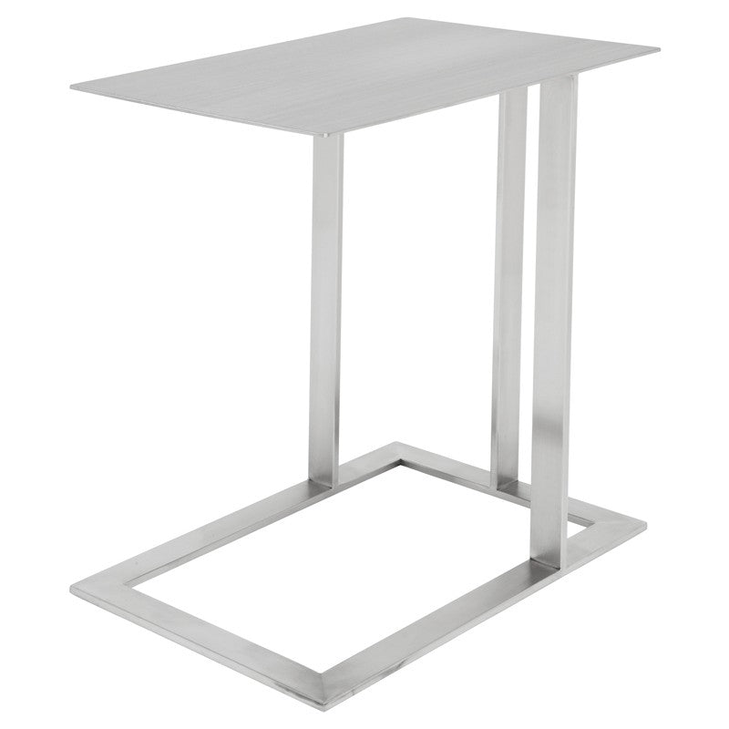 CELINE SIDE TABLE SILVER - Dream art Gallery