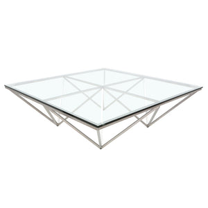 ORIGAMI COFFEE TABLE GLASS - Dream art Gallery