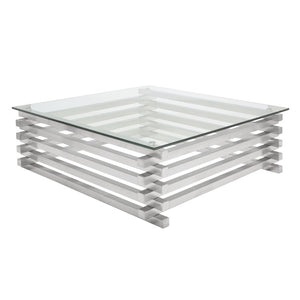 STACKED COFFEE TABLE GLASS - Dream art Gallery