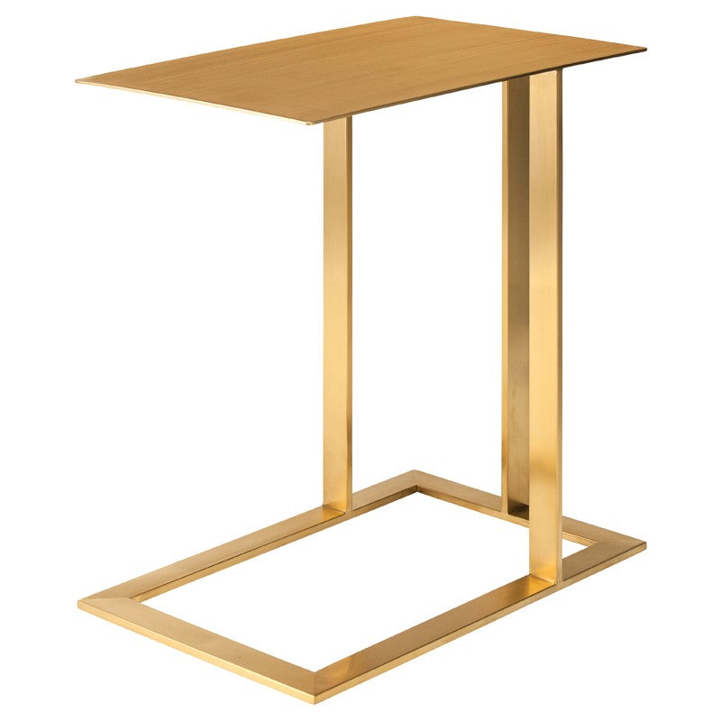 CELINE SIDE TABLE GOLD - Dreamart Gallery