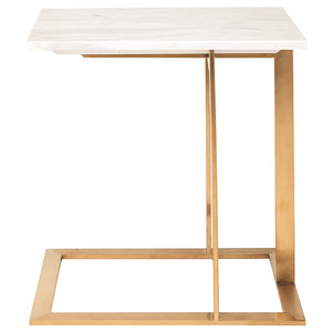 DELL SIDE TABLE WHITE - Dreamart Gallery