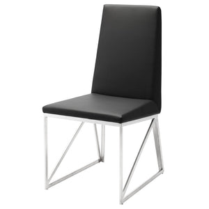 CAPRICE DINING CHAIR BLACK - Dreamart Gallery