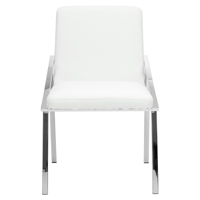 NIKA DINING CHAIR WHITE