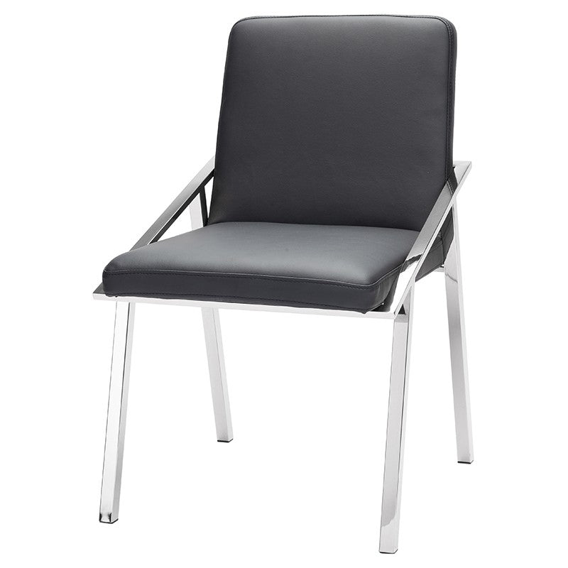 NIKA DINING CHAIR BLACK