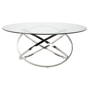 INFINITY DINING TABLE GLASS - Dream art Gallery