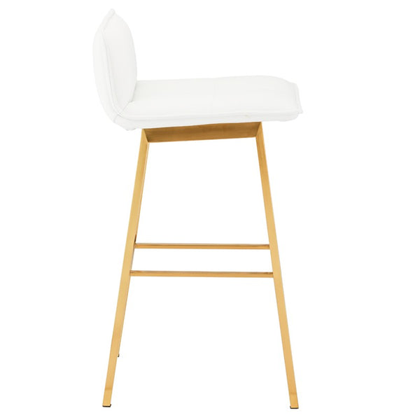 SABRINA BAR STOOL WHITE - Dream art Gallery