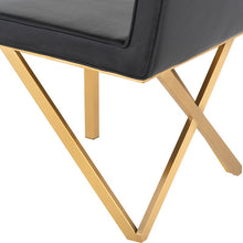 Load image into Gallery viewer, TALBOT DINING CHAIR BLACK - Dream art Gallery