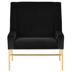 THEODORE OCCASIONAL CHAIR BLACK - Dream art Gallery