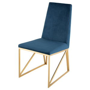 CAPRICE DINING CHAIR PEACOCK - Dream art Gallery