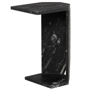 GIA SIDE TABLE NERO - Dreamart Gallery