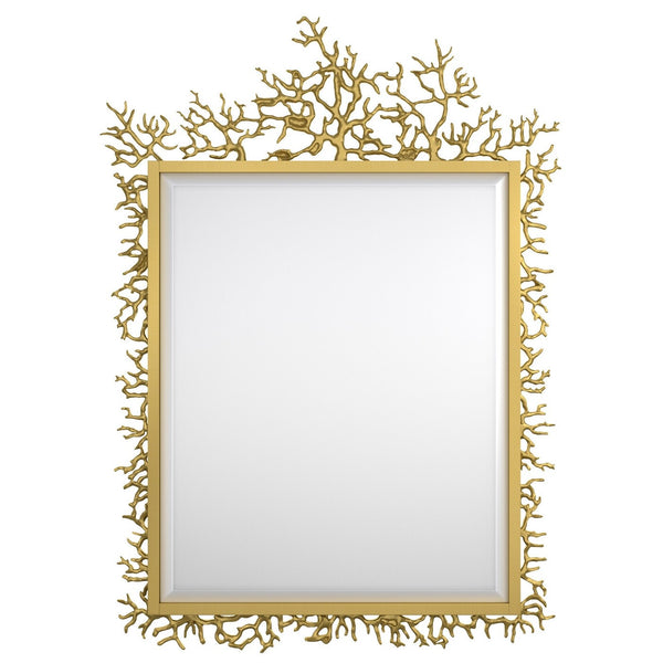 1586-90003-1 Twiggy Accent Mirror from the Cynthia Rowley - Gold - Dream art Gallery