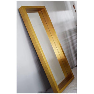 Gold Floor Mirror - Dream art Gallery