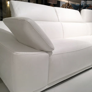 Isabel sectional white - Dream art Gallery