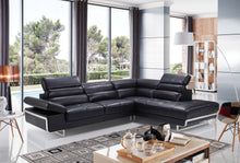 Load image into Gallery viewer, Collection: ESF Extravaganza Collection Sectional black leather - Dreamart Gallery