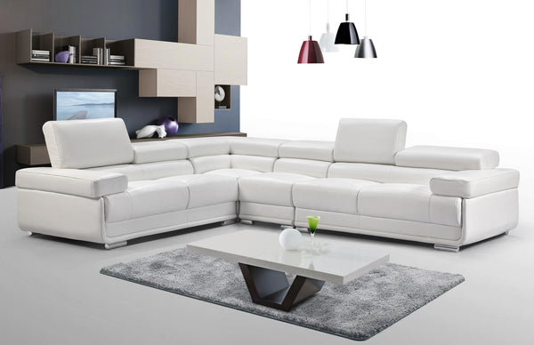 Collection: ESF Extravaganza Collection Sectional white - Dream art Gallery