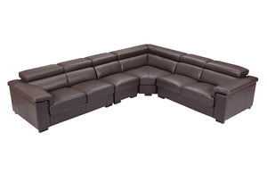 Collection: ESF Extravaganza Collection Sectional with 2 Sliding Seats - Dream art Gallery