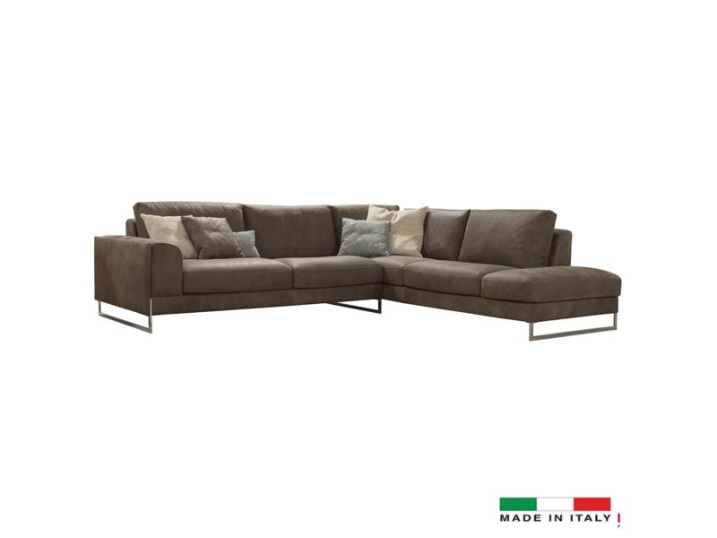 Lorenza sectional brown - Dream art Gallery